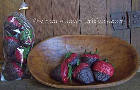 Artificial Dipped Strawberries