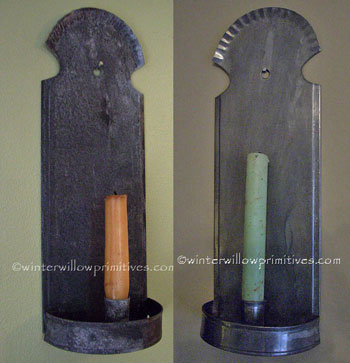 Fluted Candle Sconce