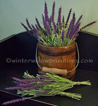 Pair of English Lavender Bouquets