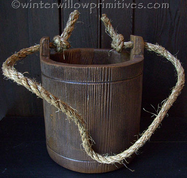 Treenware Water Bucket